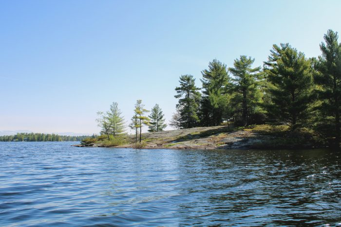 Stoney Lake in the Kawarthas