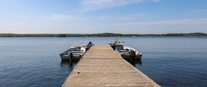 Boating and Fishing on Stoney Lake in the Kawarthas
