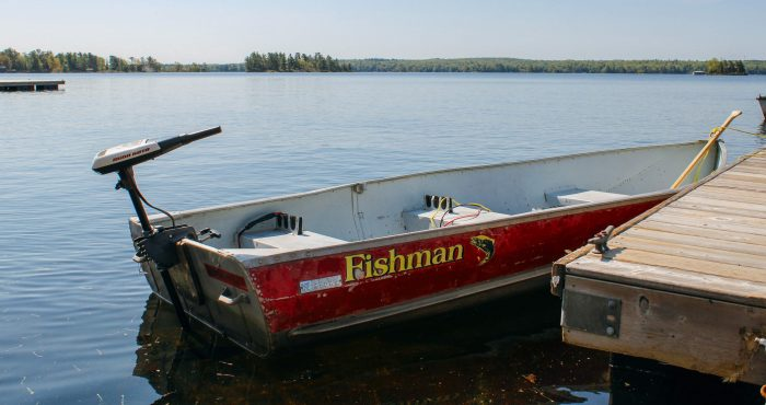 Tin Boat Rentals at Viamede Resort; Stoney Lake in the Kawarthas