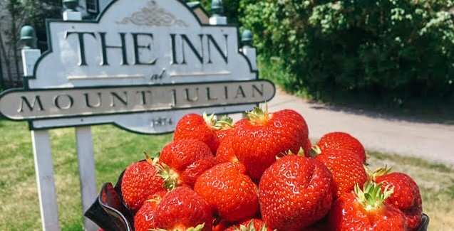 Mount Julian at Viamede Resort; fine dining in the Kawarthas; farm-to-table