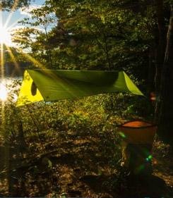 bushcraft shelter tarp